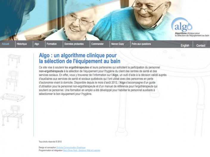 Site Web Algo
