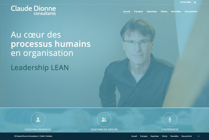 Site Web Claude Dionne Consultants