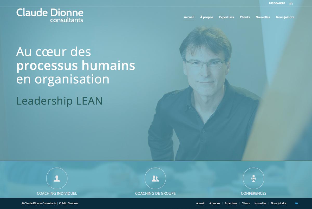 Site Web Claude Dionne Consultants