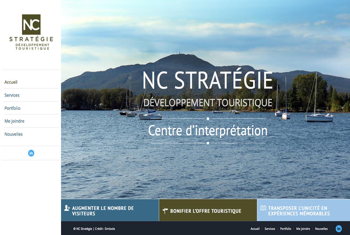 NC Stratégie Développement Touristique
