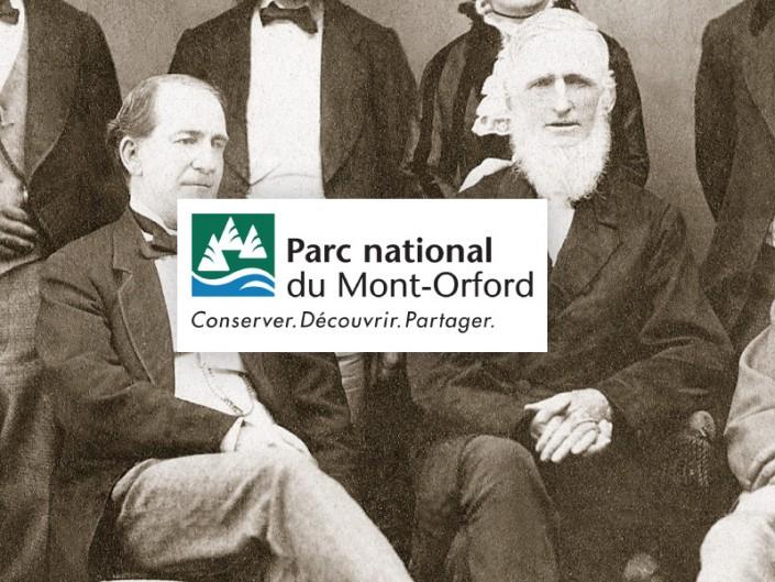 Panneaux historique Mont-Orford SEPAQ1