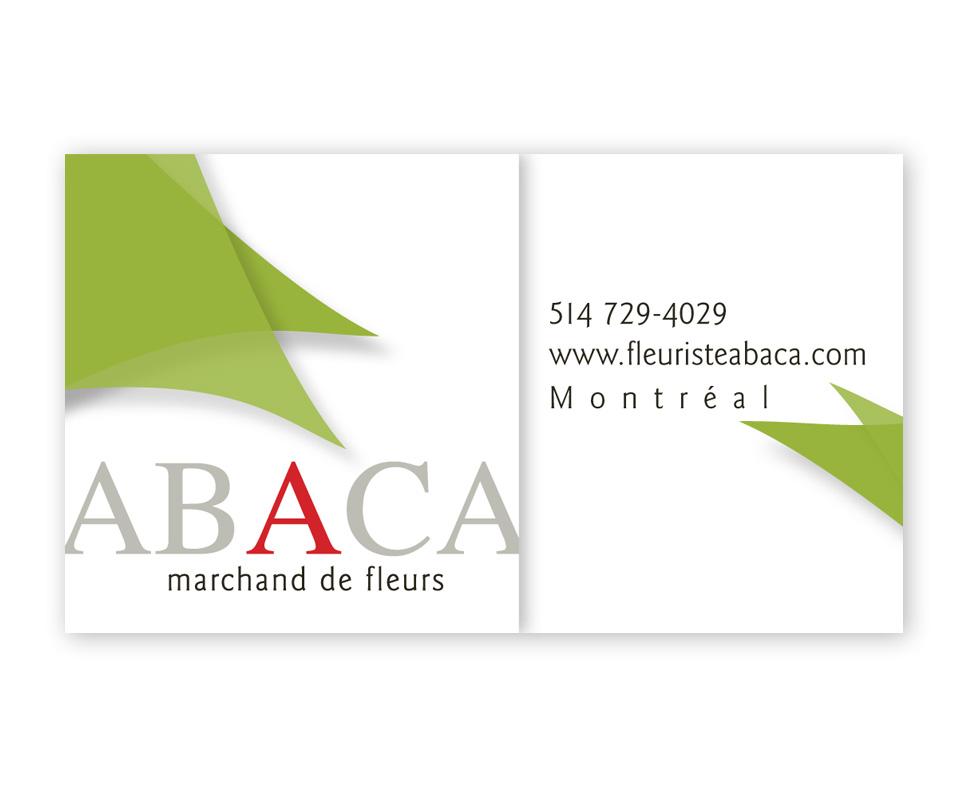 ABACA Fleuriste logo