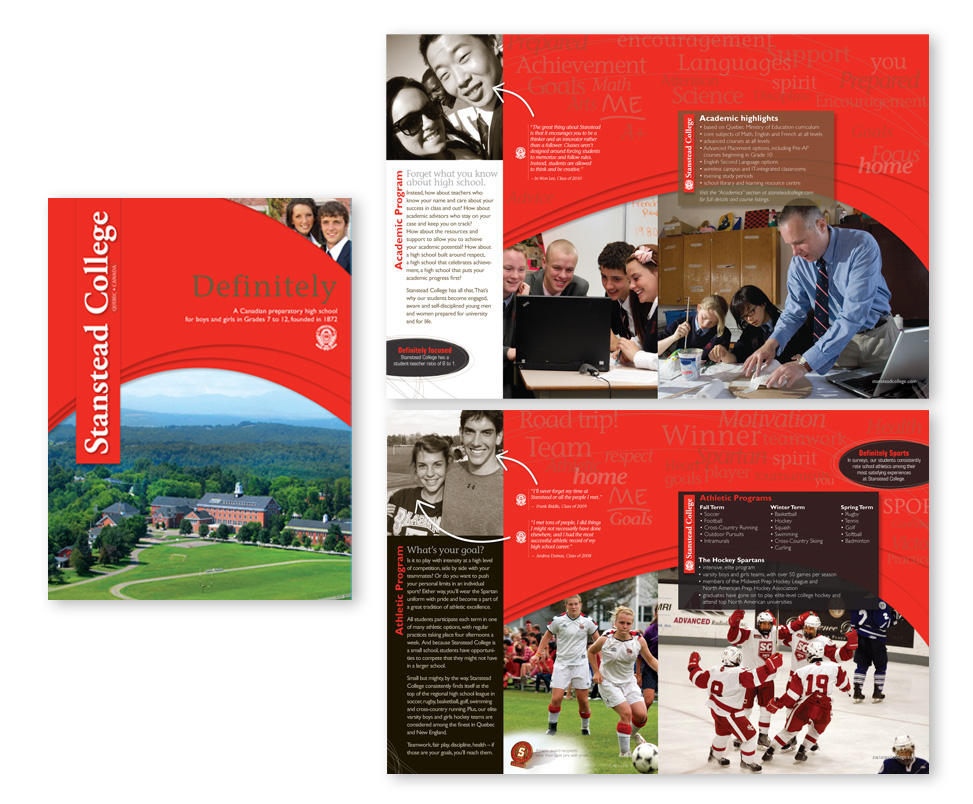 Brochure du Stanstead College
